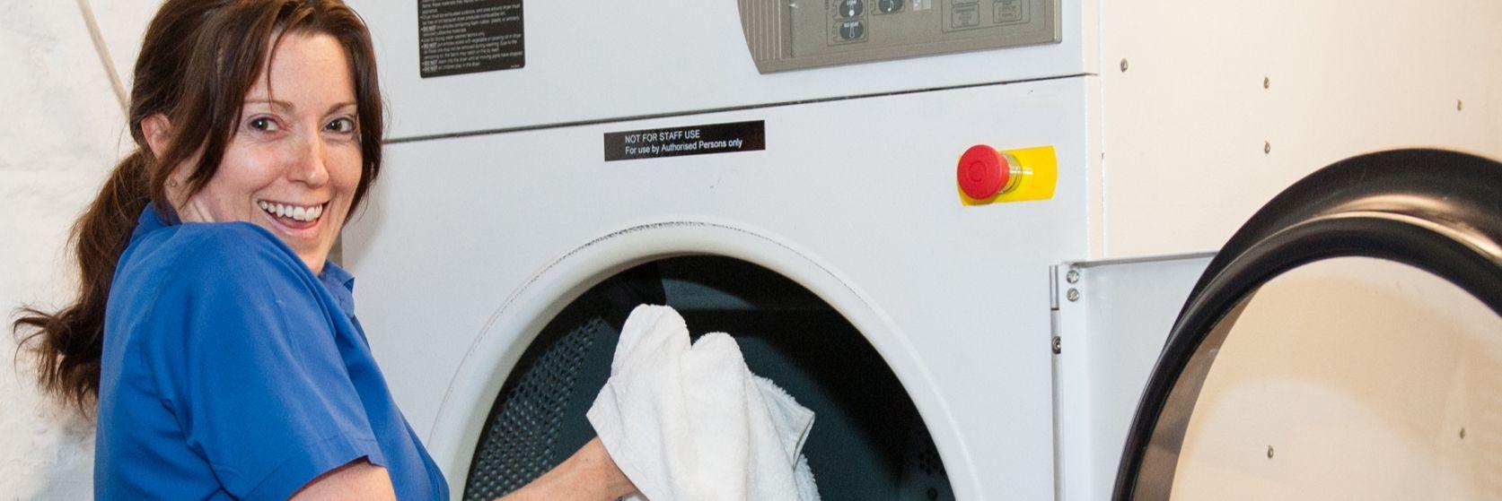 Gliffaes Hotel laundry