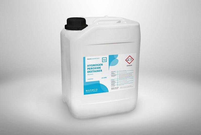 WASHCHEMICALS Hydrogen Peroxide Destainer pack shot
